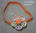 Luisa Orange Headband