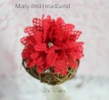 Marly Red Headband