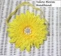 Yellow Bloom Headband