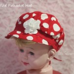 red polkadot hat
